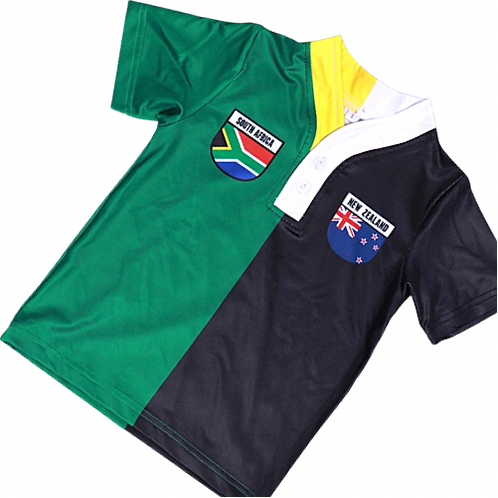 50:50 Shield Jersey New Zealand +South Africa