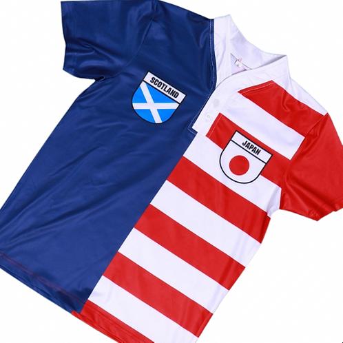 50:50 Shield Jersey Japan +Scotland