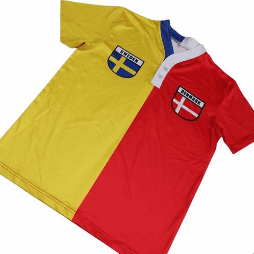 50:50 Shield Jersey Sweden + Denmark