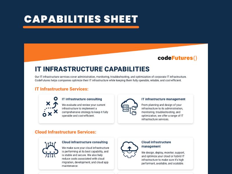 IT Infrastructure Capabilities