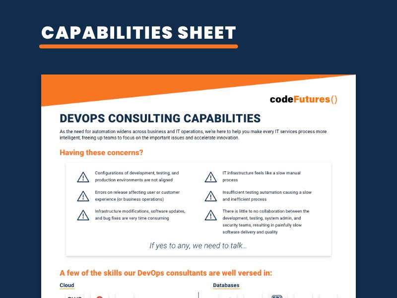 DevOps Consulting Capabilities