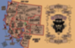 The New World Map PAE (post apocalyptic era)