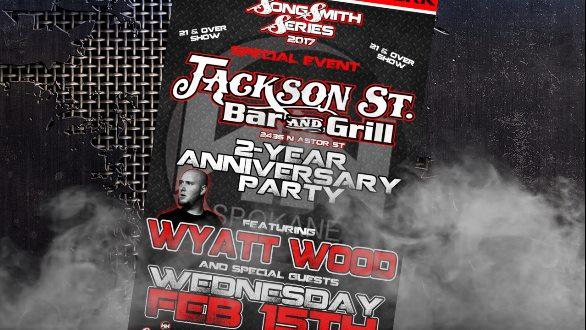 Jackson Street 2 year anniversary show TONIGHT