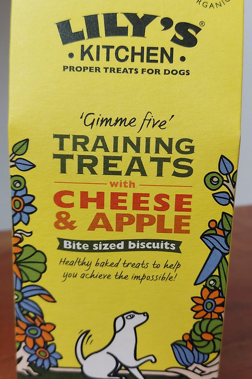 LILYS KITCHEN TRAINING TREATS WITH CHEESE & APPLE