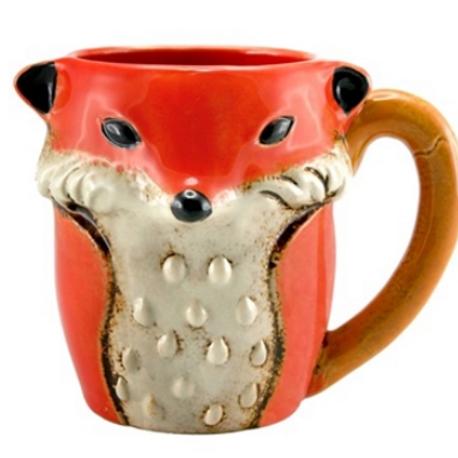 Foxy Loxy Ceramic Mug