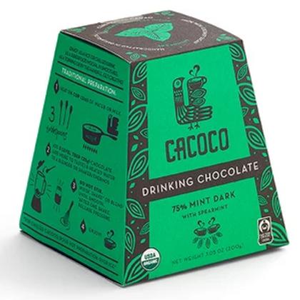 75% Mint Dark Drinking Chocolate