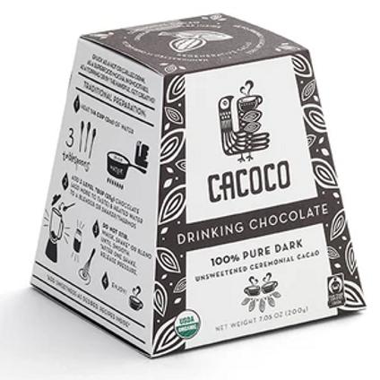 100% Pure Dark Drinking Chocolate