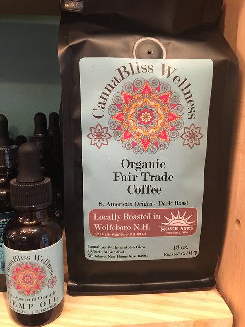 Dark Roast Peruvian Organic Fair Trade Coffee