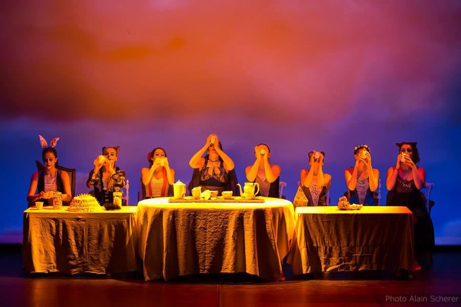 Alice de l'autre côté du miroir - gala 2017 - les arts en scène