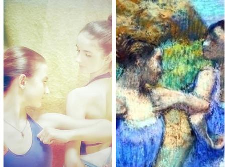 Défi une oeuvre/une photo sur le thème de Degas