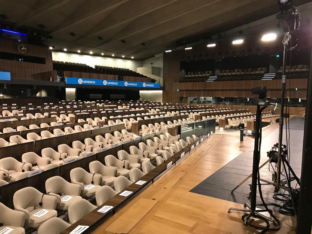 Découverte de la salle 1 de l'UNESCO