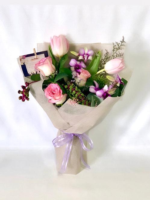 Blush Pink Tulip Bouquet