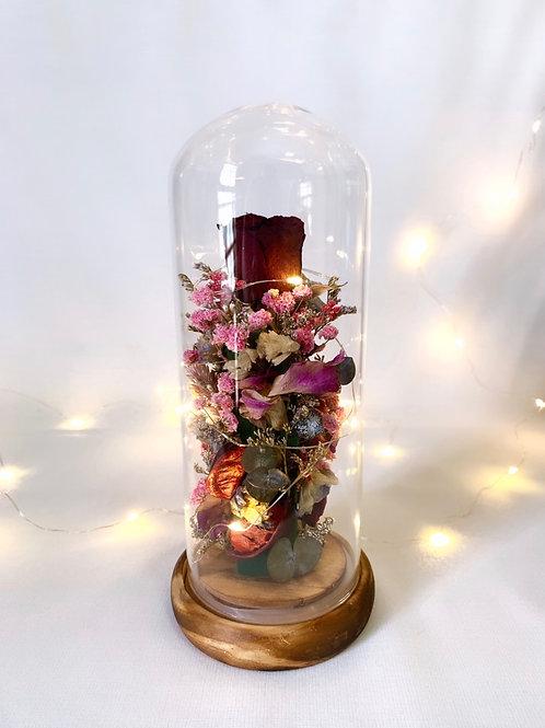 Scarlet Floral Dome