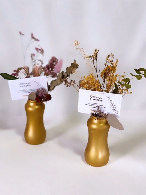 Rustic Table Vases