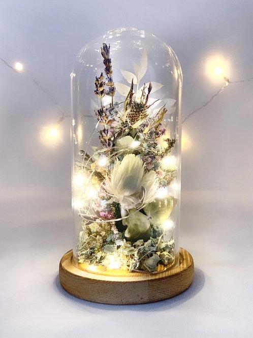 Pastel Floral Dome