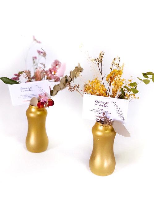 Rustic Table Vases