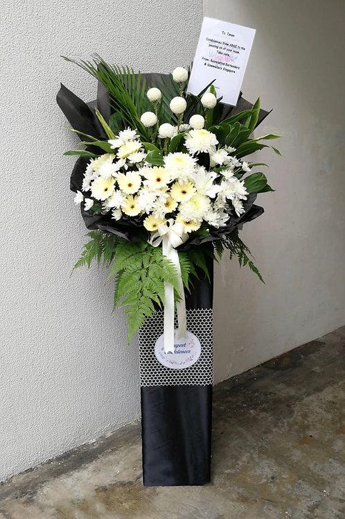 Condolences Flower Stand (Box)