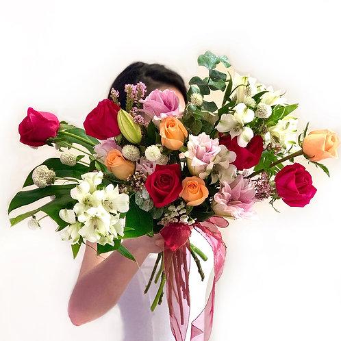 Double Petal Lily Bouquet