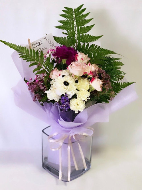 Sweet Puppy Bouquet