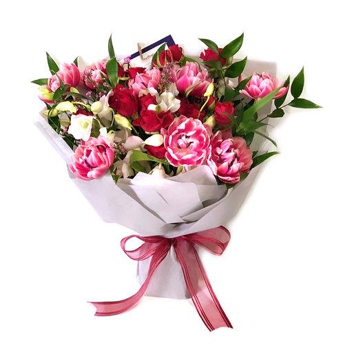 Double Petal Tulip Bouquet