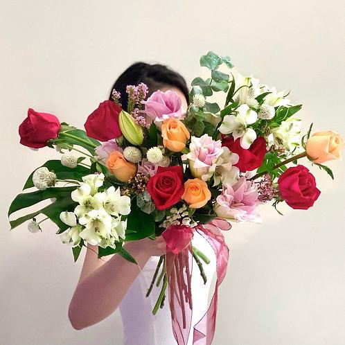 Double Petals Lily Bouquet