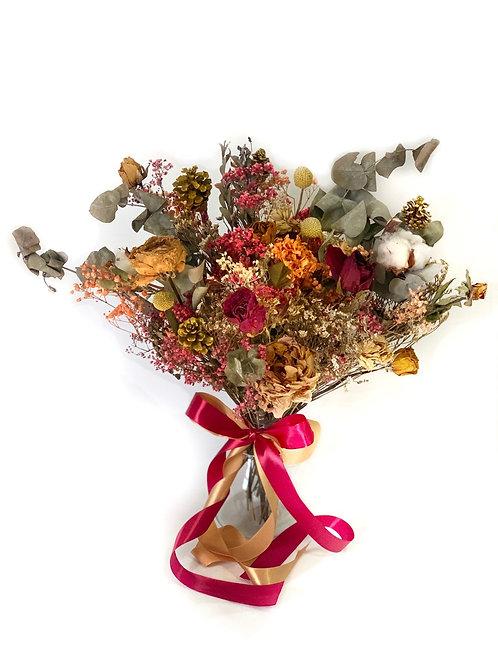 Scarlet Rose Bridal Bouquet