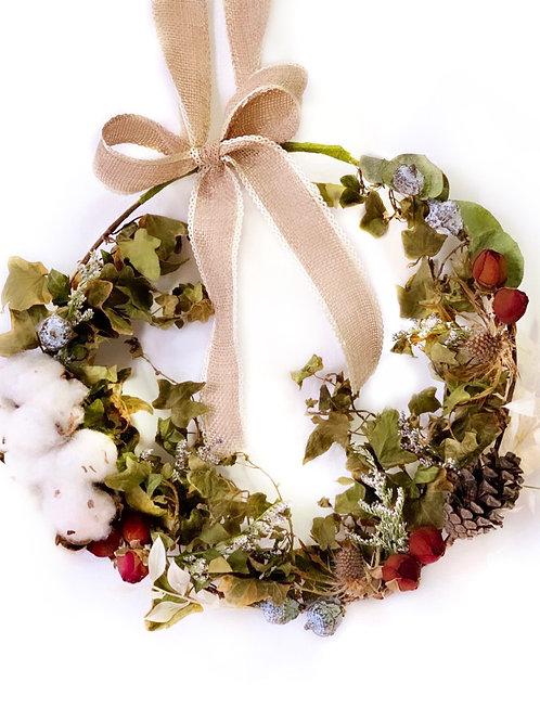 Preserved Flower Wreath