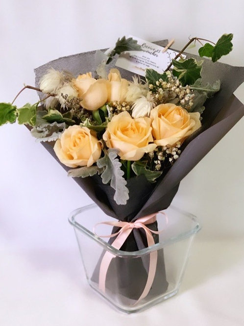 Champagne Rose Bouquet