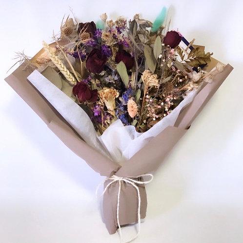 Rose and Delphinium Bouquet (Upsize)