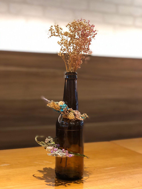 Baby's Breath Bottle Decor