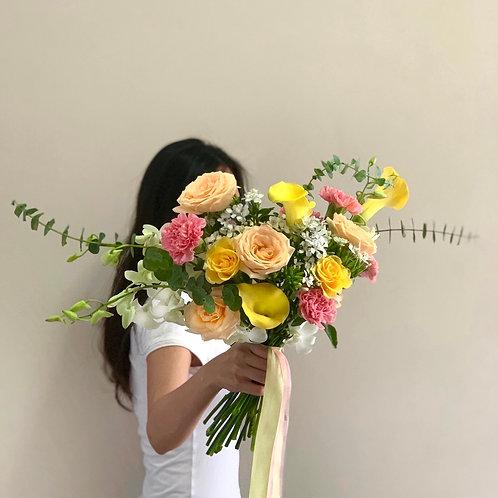 Yellow Calla Bouquet
