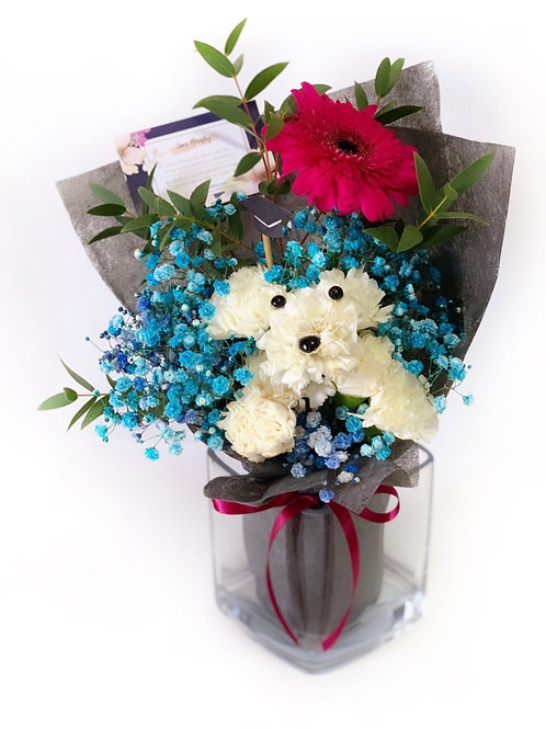 Classic Puppy Bouquet