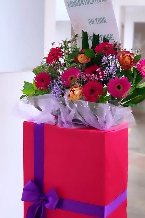 Congratulatory Flower Stand (Box)