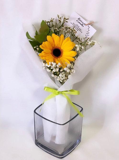 Gleeful Gerbera Bouquet