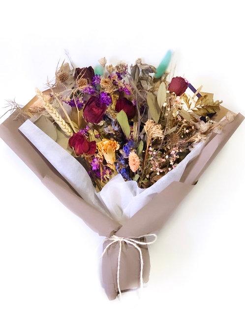 Rose and Delphinium Bouquet