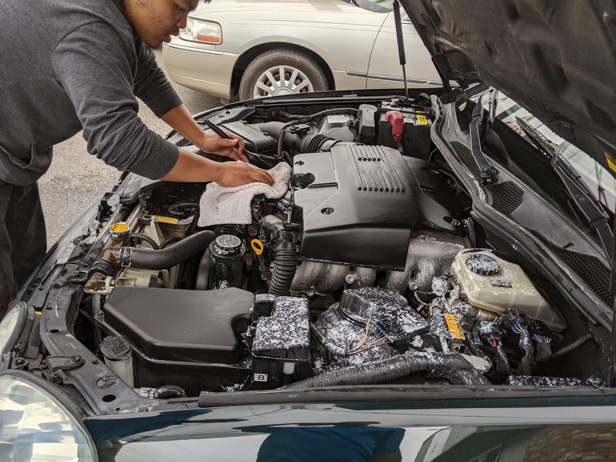 Engine Bay Detail