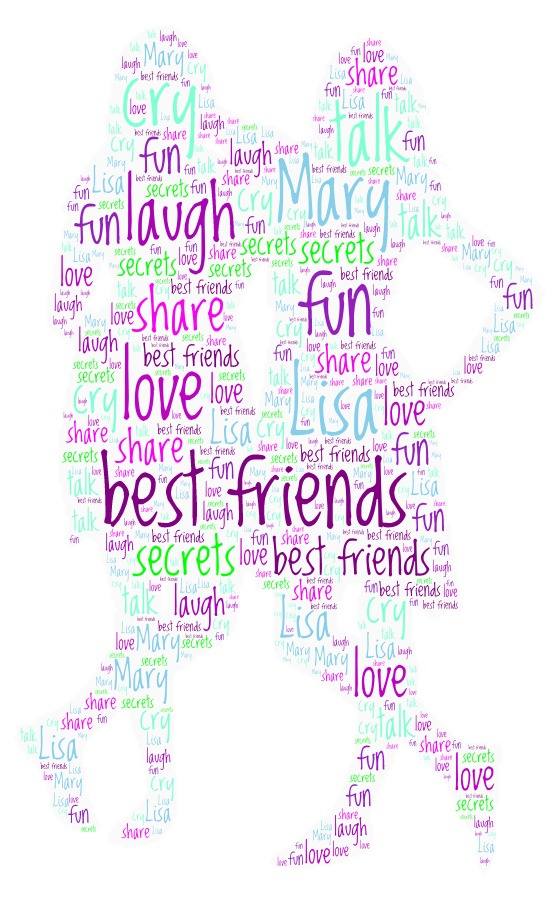 Word Art 43 girlfriends  sisters(2)
