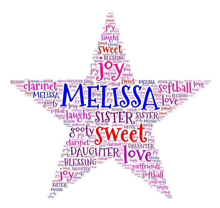 Word Art 5 Star