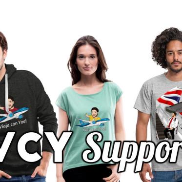 Centro de Ayuda para la tienda en línea VCY Merch