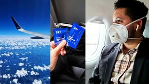 Riesgo de transmisión de coronavirus en un avión «MUY BAJA»