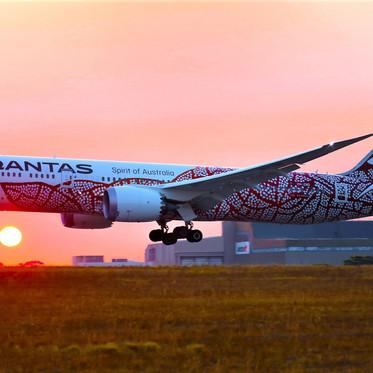 Qantas ofrece un vuelo turístico por Australia. Se vendió en minutos