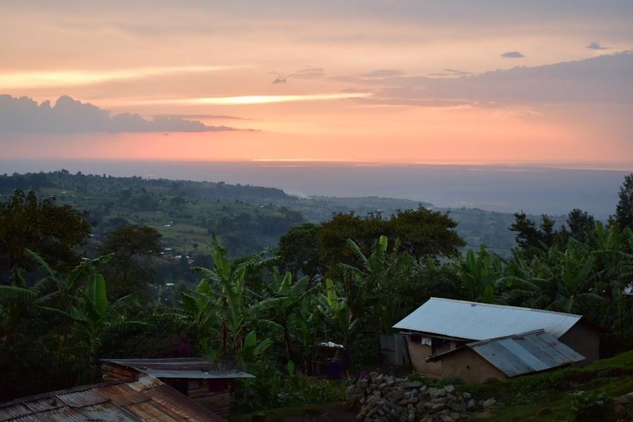 Sunset, Kapchorwa, Uganda, alakara reiser, home of friends