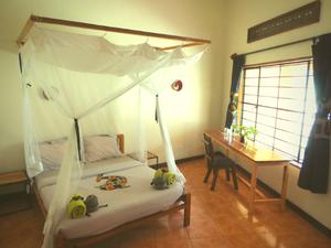 Viavia Entebbe, alakarareiser, mosquito net