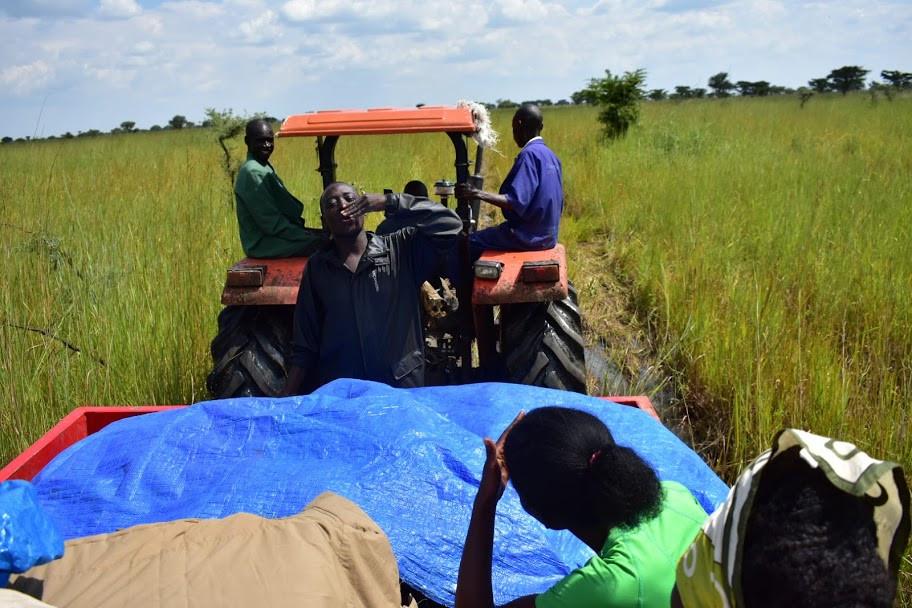 alakara reiser, uganda, teso, karamoja, tractor, bad roads