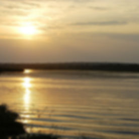 Solnedgang Viktoriasjøen, Alakara reiser