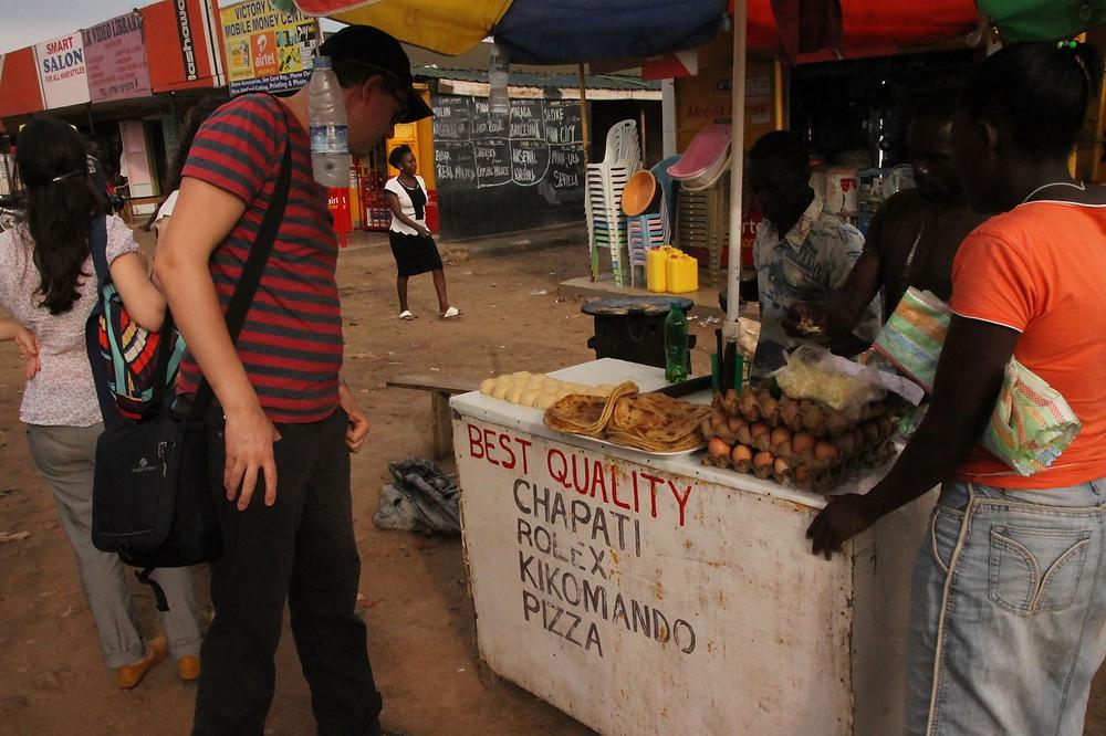 Uganda, Rolex, Kampala, street food