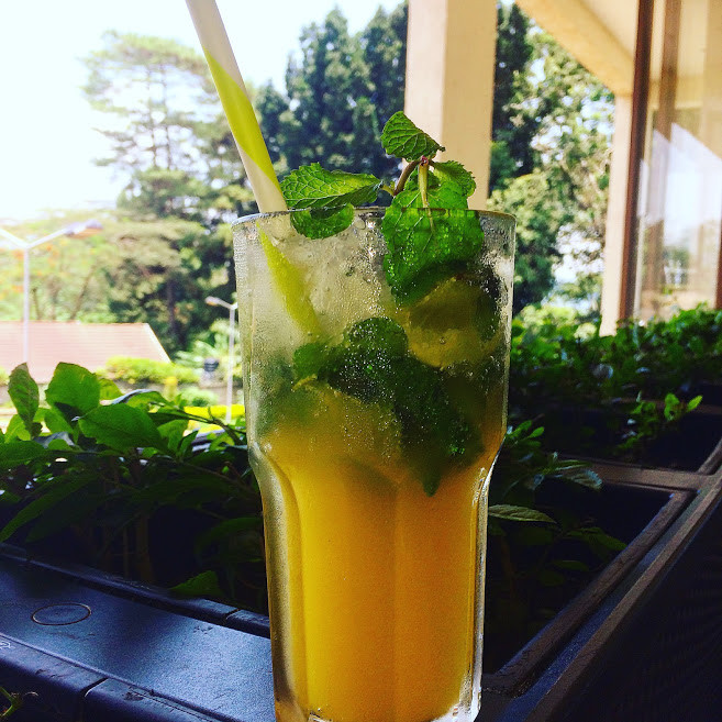 passion nojito, cafe javas, uganda, passion fruit, entebbe, delicious