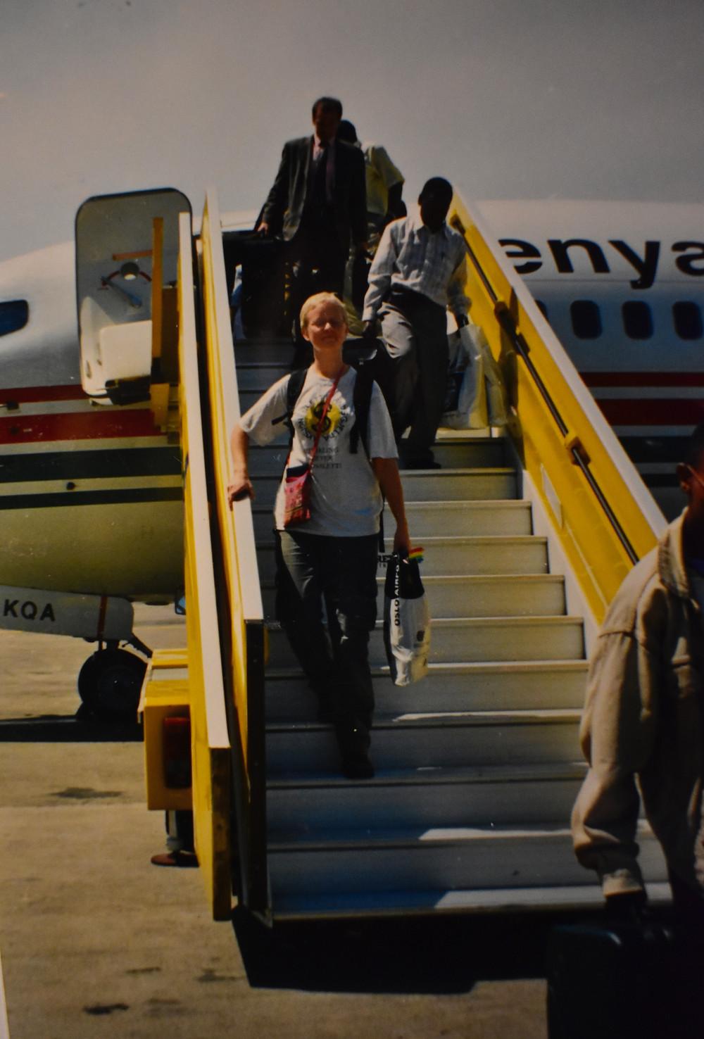 Alakara reiser, Entebbe, Ingeborg Sæbø Oluka, Entebbe, Uganda
