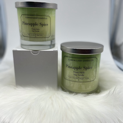 Pineapple Spice  100% Soy Candle