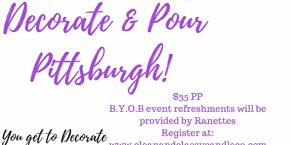 Decorate & Pour Pittsburgh